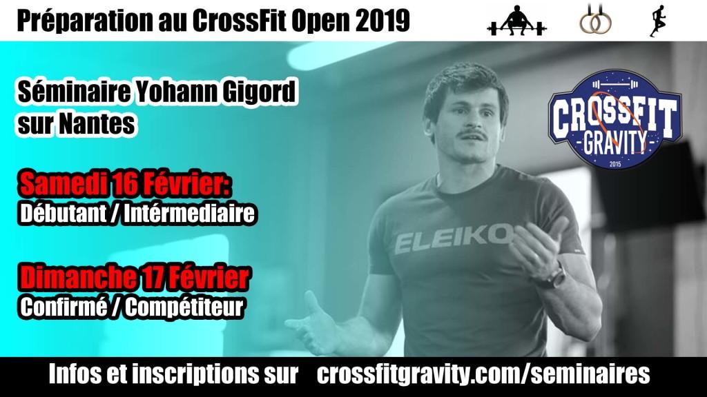 Affiche Yohann Gigord CrossFit Gravity
